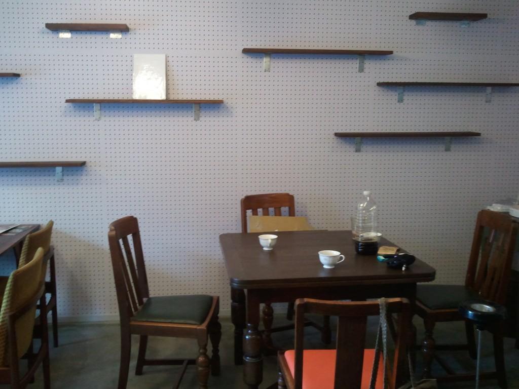 Cafe felt 壁