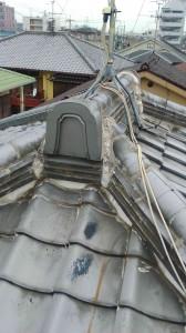 雨漏り修繕 瓦屋根