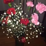 圭祐からのお花