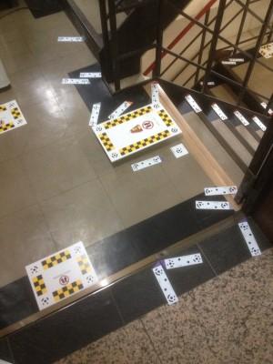 階段昇降機取付前2