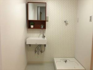 コンパクトな洗面所で幅が広くないので最適な商品でした