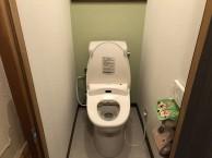 トイレ内装施工後