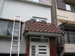 I屋根葺き替え前