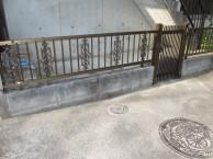 フェンスと門扉完成
