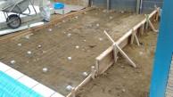 土間のコンクリートを打つ前に。