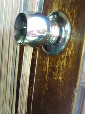 旧握り玉錠