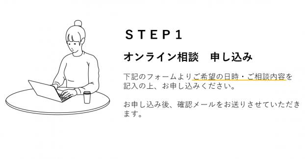 STEP1オンライン相談