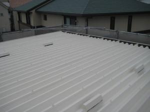 AK屋根完成