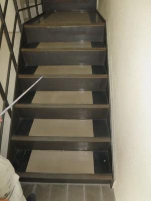階段昇降機取付前