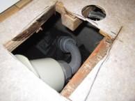 排水トラップ取付