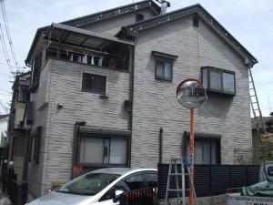 外壁塗装工事前
