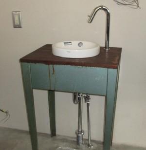 手作り洗面台2