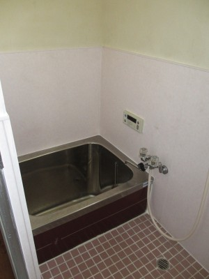 浴室パネル工事