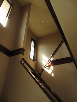 K様階段踊り場