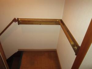 階段手すり取付 施工後