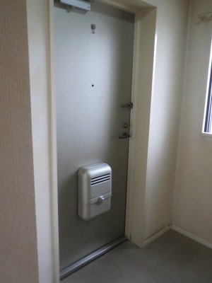 玄関ドア(室内側)