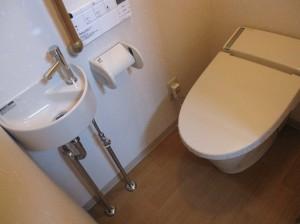 和式トイレ改修後