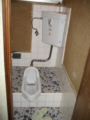 トイレ改装前