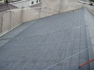 屋根工事前①