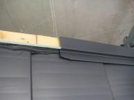 屋根葺き替え工事中③