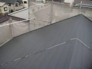 屋根工事後①