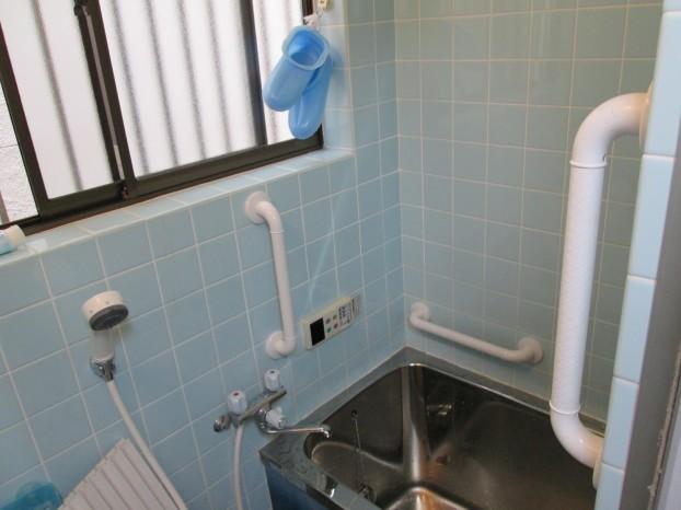 浴室 手摺 3か所