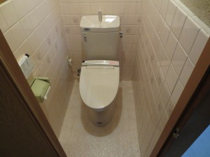 トイレ入替後