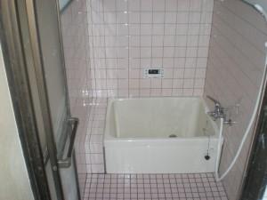 浴室入替え後